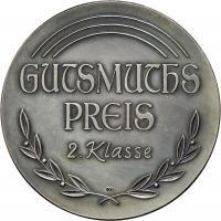 B.0039b GutsMuths-Preis II. Klasse - Silber 900