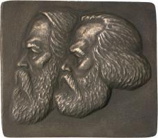 B.4367 SED Ehrengeschenk - Marx/Engels