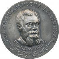 B.4574aU Franz-Mehring-Ehrennadel Silber (900)