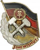 B.4713hU SDAG Wismut Meister der Arbeit II. Klasse