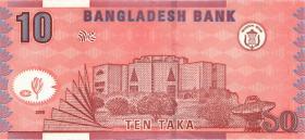 Bangladesch / Bangladesh P.39d 10 Taka 2005 (1)