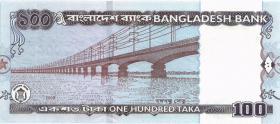 Bangladesch / Bangladesh P.49f 100 Taka 2009 (1)