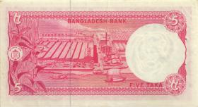 Bangladesch / Bangladesh P.13 5 Taka (1973) (1)