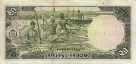 Bangladesch / Bangladesh P.22 20 Taka (1979) (2)