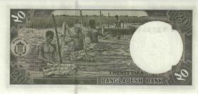 Bangladesch / Bangladesh P.48d 20 Taka 2011 (1)
