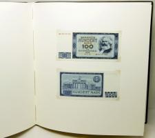 Album der Staatsbank der DDR: Banknoten der Deutschen Demokratischen Republik