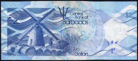 Barbados P.73 2 Dollars 2013 (1)