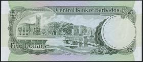 Barbados P.31 5 Dollars (1973) (1)