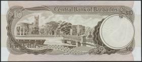 Barbados P.38 10 Dollars (1988) (1)