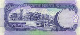 Barbados P.46 2 Dollars (1995) (3)