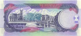Barbados P.54b 2 Dollars (1998) (1)