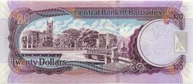 Barbados P.69b 20 Dollars 2007 (2009) (1)