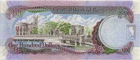 Barbados P.71b 100 Dollars 2007 (2009) (1)