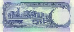 Barbados P.36b 2 Dollars (1986) (1)