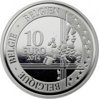 Belgien 10 Euro 2014 1. Weltkrieg