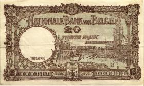 Belgien / Belgium P.111 20 Francs 1945 (2)