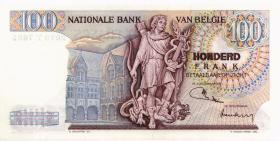 Belgien / Belgium P.134b 100 Francs 1974 (1)