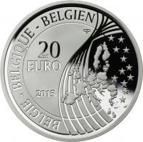 Belgien 20 Euro 2015 Friede in Europa