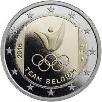 Belgien 2 Euro 2016 Olympische Spiele Rio - Team Belgien PP