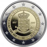 Belgien 2 Euro 2017 200 Jahre Universität Lüttich PP