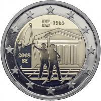 Belgien 2 Euro 2018 50. Jahrestag der Ereignisse vom Mai 1968 in Belgien PP