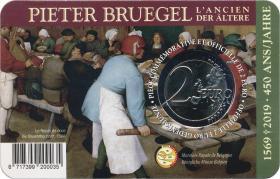 Belgien 2 Euro 2019 Pieter Bruegel (fläm.)