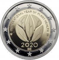 Belgien 2 Euro 2020 Internat. Jahr der Pflanzengesundheit PP