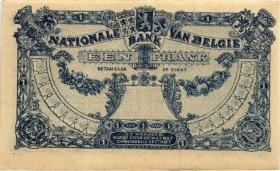 Belgien / Belgium P.092 1 Franc 1921 (1/1-)