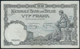 Belgien / Belgium P.108b 5 Francs 1988 (1938) (2)