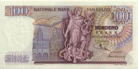 Belgien / Belgium P.134b 100 Francs 1974 (1/1-)