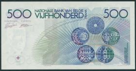 Belgien / Belgium P.143 500 Francs (1982-98) (1/1-)