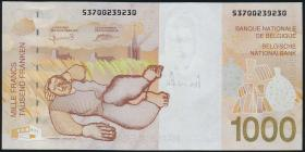 Belgien / Belgium P.150 1000 Francs (1997) (1)