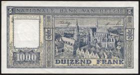 Belgien / Belgium P.128b 1000 Francs 1944 (2)