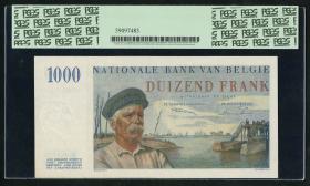 Belgien / Belgium P.131 1000 Francs 1950 (1)