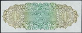 Belize P.33a 1 Dollar 1974 (1)