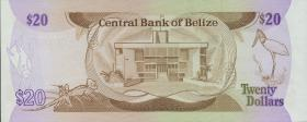 Belize P.45 20 Dollars 1983 (1)