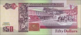 Belize P.56b 50 Dollars 1991 (1)