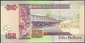 Belize P.64a 50 Dollars 1997 (1)