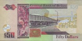 Belize P.70b 50 Dollars 2006 (1)