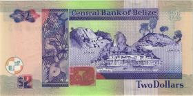 Belize P.66f 2 Dollars 2017 (1)