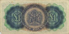 Bermuda P.20d 1 Pound 1966 (4)