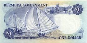 Bermuda P.23 1 Dollar 1970 A-1 (1/1-)