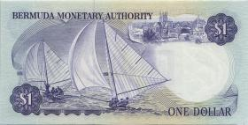 Bermuda P.28b 1 Dollar 1984 A-7 (1)