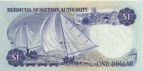 Bermuda P.28b 1 Dollar 1978 A-4 (1)