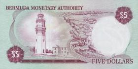 Bermuda P.29b 5 Dollars 1981 (1)