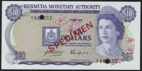 Bermuda P.Cs1 1 Dollar - 100 Dollars 1978 - 1984 (1)