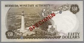 Bermuda P.32s 50 Dollars 1978 (1) SPECIMEN