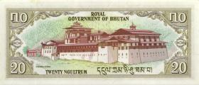 Bhutan P.09 20 Ngultrum (1981) (1)