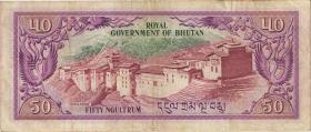 Bhutan P.10 50 Ngultrum (1981) (3)