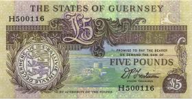 Guernsey P.53b 5 Pounds (1991-95) (1)